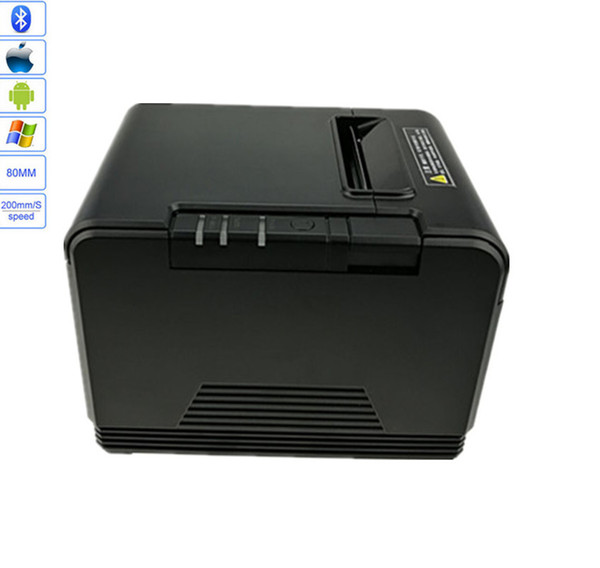 Wholesal High quality 80mm Automatic cutting thermal printer receipt machine printing speed USB + Bluetooth interface