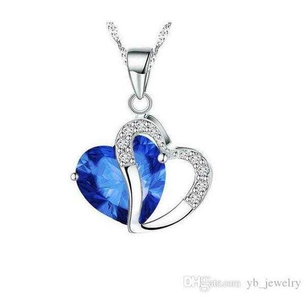 Argento-zaffiro blu
