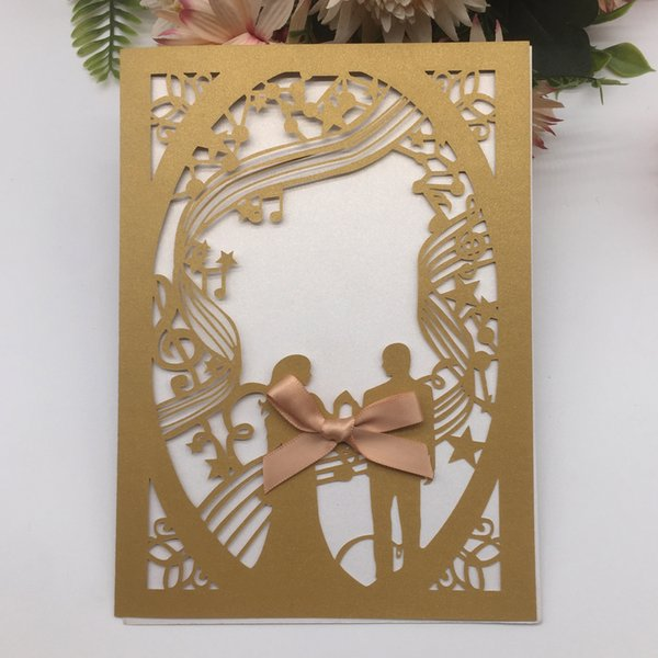Card And Butterfly Knot Wedding Invitation Card Birthday Party Invitation Cards Valentine S Day Family Activity Invitation Cards Supplies Cute Wedding