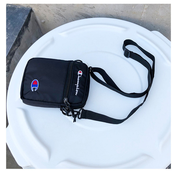 Champions Print Nylon Belt Waist Bag Fanny Packs Unisex Brand Crossboy one Shoulder Mini Bags Travel Shopping Teenager Money Card Bags B383