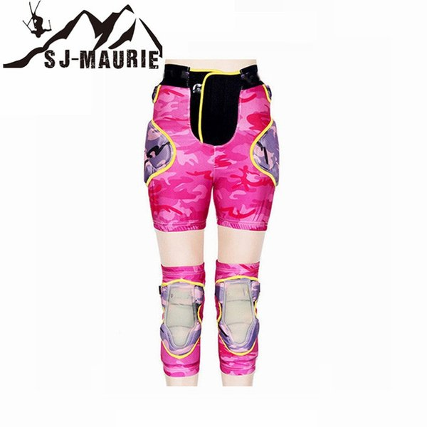 Universal Cycling Skiing Hiking Basketball Volleyball Knee and Hip Pads Protectors Support Neoprene Breathable Brace #232318