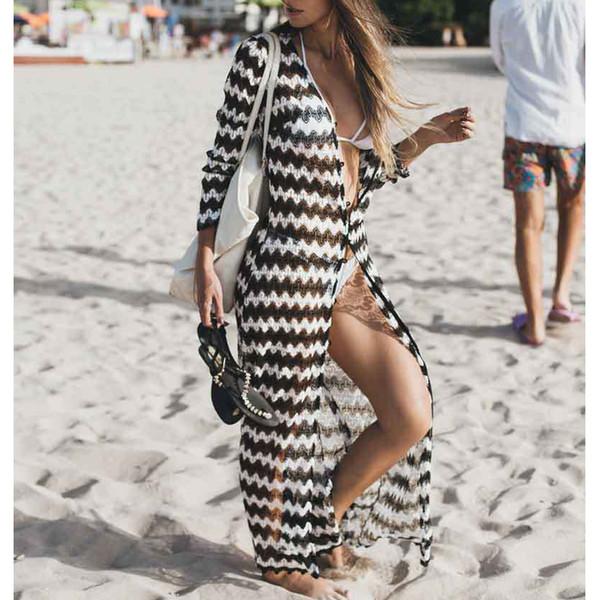 New Lace Beach Cover up Sarong Beach Wrap Pareos Para Playa 2019 Swimwear Cover up Women Robe Plage Kaftan Dress