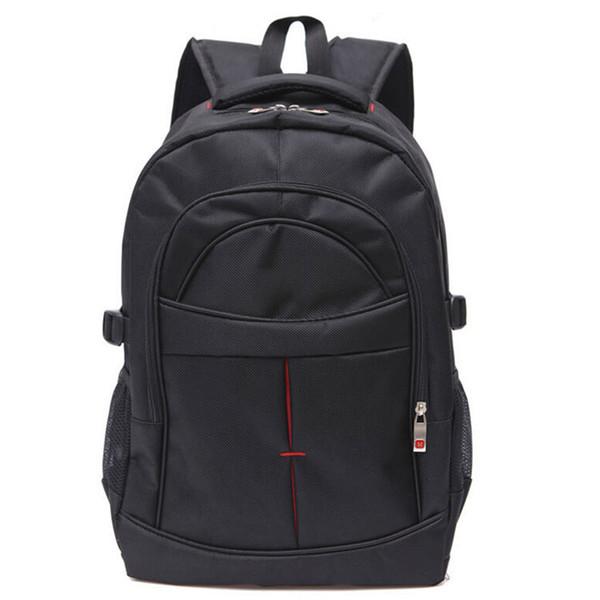 15.6 Inch Laptop Backpack Waterproof Leisure School Bags Black Mens Shoulder Rucksack For Teenagers Men Business 2017 New-45