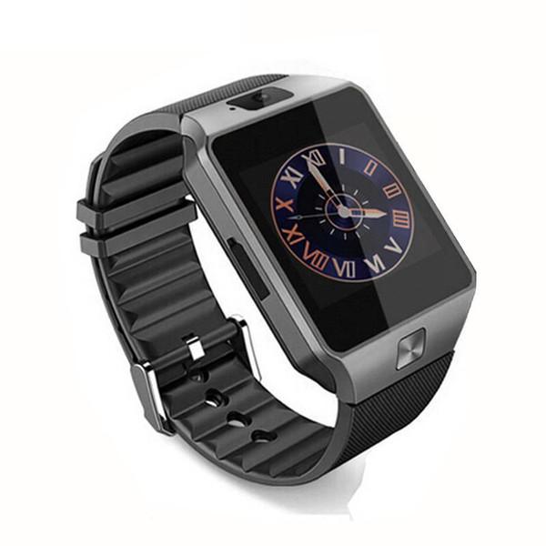 Горячие продажи DZ09 смарт-часы Dz09 Часы Браслет Android часы Smart SIM интеллектуальный мобильный телефон сна состояние смарт-часы Розничный пакет