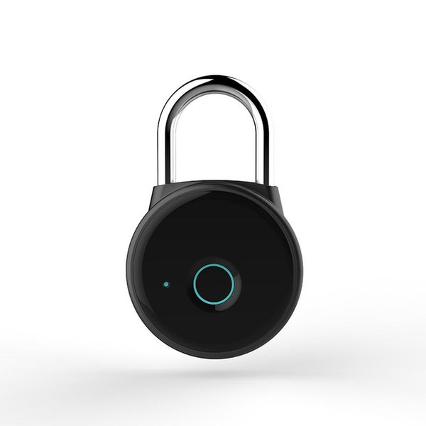 Intelligent Bluetooth Fingerprint Padlock Electronic Lock Travel Luggage Smart Anti-theft Lock