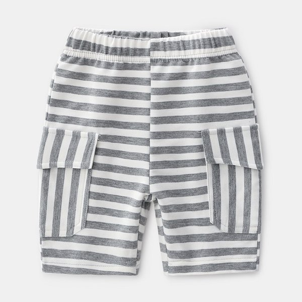 Korean Version Of The Boutique Childrens Clothing Boys And Children Striped Beach Shorts Baby Hot Pants Wholesale