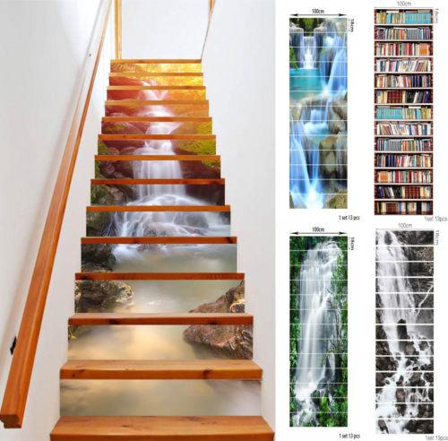 3d Stair Riser Staircase Sticker Photo Mural Vinyl Decal Scenery Wallpaper Horse Wall Decals Horse Wall Stickers From Funlifehome 2 0 Dhgate Com