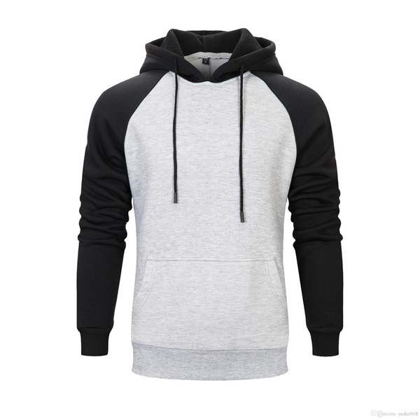 Mens Women Hood Coat Cross-border Autumn And Winter Clothing New Men's Solid Color Hooded Brushed Couple Sweater Factory Direct Sales