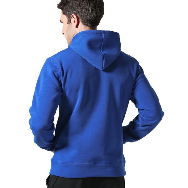 Fashion-Brand Men Casual Hoodies Sweatshirt Solid Color Print Trend Fleece Cotton Slim Pullover Coat Warm Clothes Factory Outlet hOT sALE