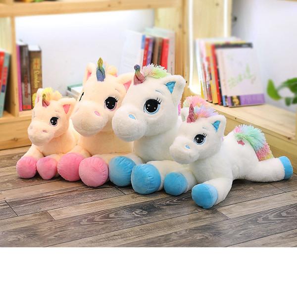 40//60cm Soft Giant Plush Jumbo Large Unicorn Toys Stuffed Animal Doll Xmas Gifts