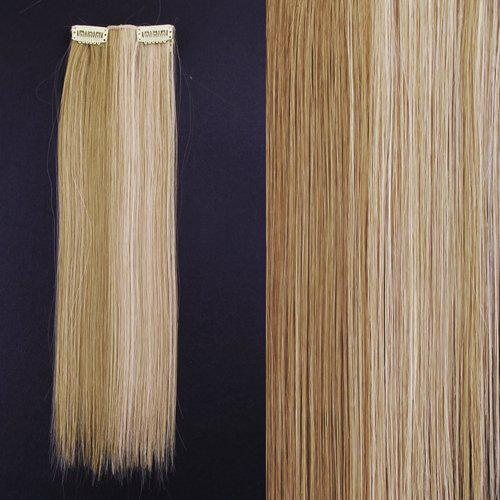 "8 18"" #27/613 Blonde Highlights Straight Full Head Synthetic Hair Extensions"