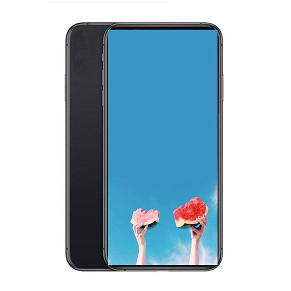 6.5inch Goophone XI MAX Quad Core MTK6580P Android Smartphones 1G/4G Show Fake 4G /512G 4G lte Unlocked 13mp Camera Phone