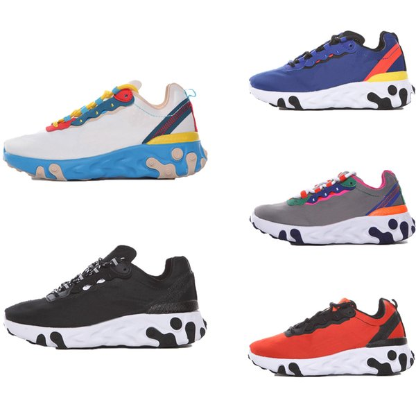 React 55 Element 87 Desinger Kids Running Shoes Children Outdoor Sneakers Boy & Girl Trainer Baby Shoes Sports Toddler Calzado
