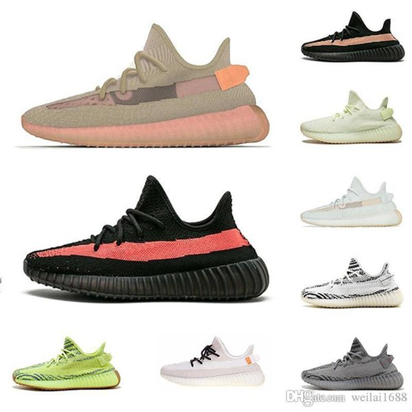 Nuove scarpe da uomo scarpe firmate sneakers firmate Donne cresce semi congelate Sesame Kanye West moda uomo donna di lusso sandali firmati