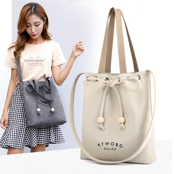 2019 Large Capacity Women Bags Shoulder Tote Bags Bolsos New Women Messenger Bags With Letter Famous Designers Canvas Handbags