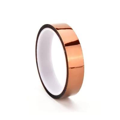 NEW Kapton Tape Sticky درجات الحرارة العالية بوليميد مقاوم للحرارة 25 ملم ، 50 ملم ، 10 ملم ، 20 ملم ، 30 متر B00137 OST MYY
