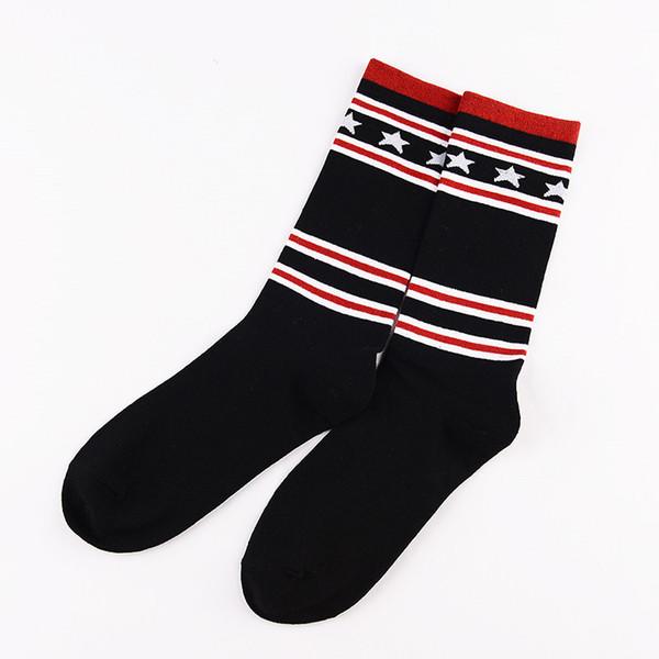 Brand Design Letter Stockings New Basketball Sport Sox Mouth Printing Socks Men And Women Sport Stockings
