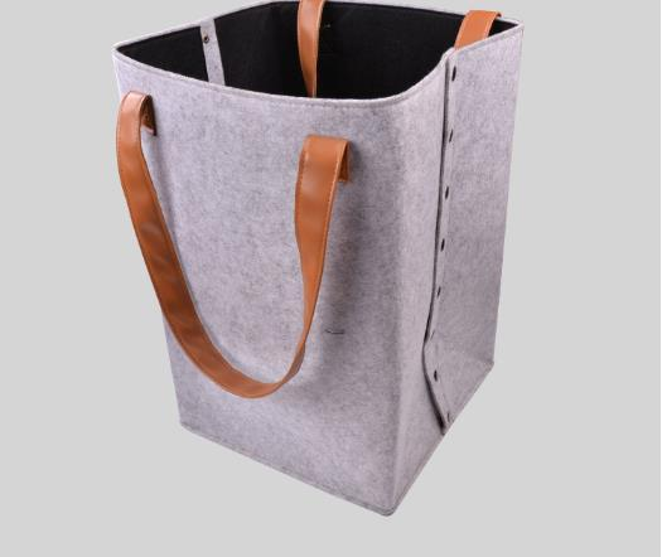 2019 handbag Fashion Waterproof Laundry Clothes Desktop Basket Storage Box Folding With high Quality Hot Sale Home