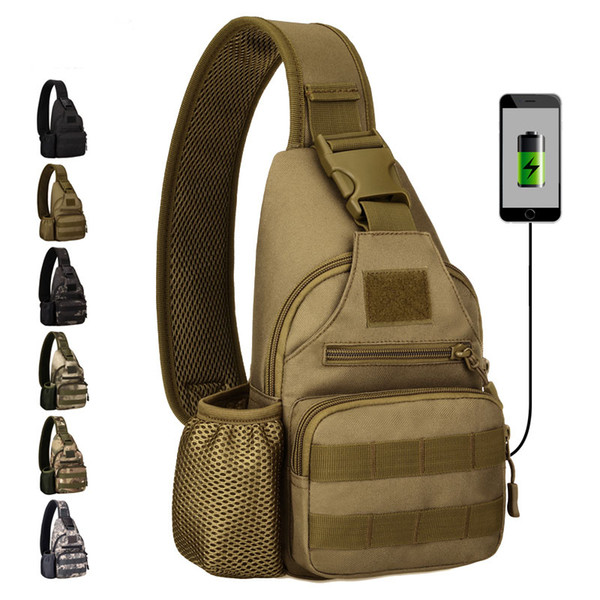 Protector plu multi function bag kettle che t bag cycling port outdoor tactical houlder backpack with u b charging che t lei ure bag