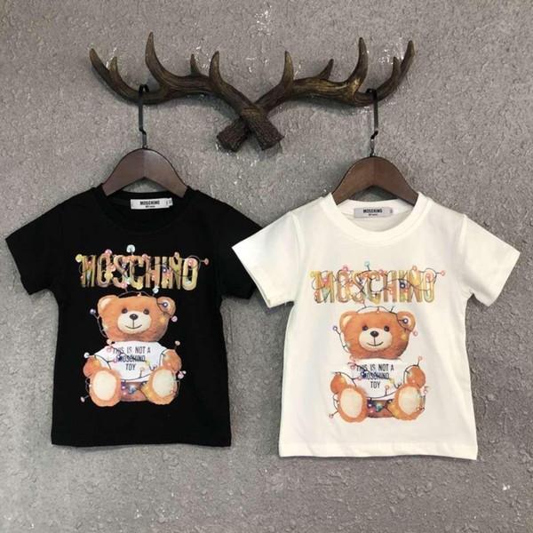 Kids Designer Clothes Girl Baby Boy Fashion Print Cotton Clothes Designer Mens Designer T-Shirt Breathable Fashion Brand Luxury D-2