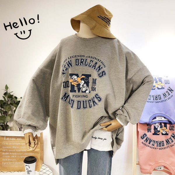 Baseball Canard Sweaterxgray