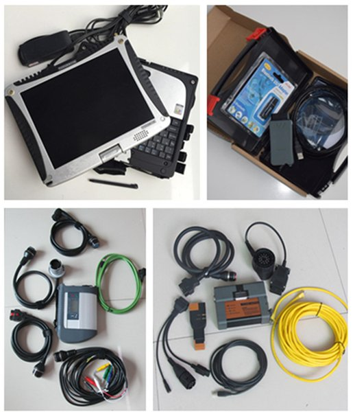2019 best quality auto diagnostic scanner for bmw icom a2 + sd connect c4 + vas5054a with laptop cf19 i5 4g 3in1 SSD 1tb win7