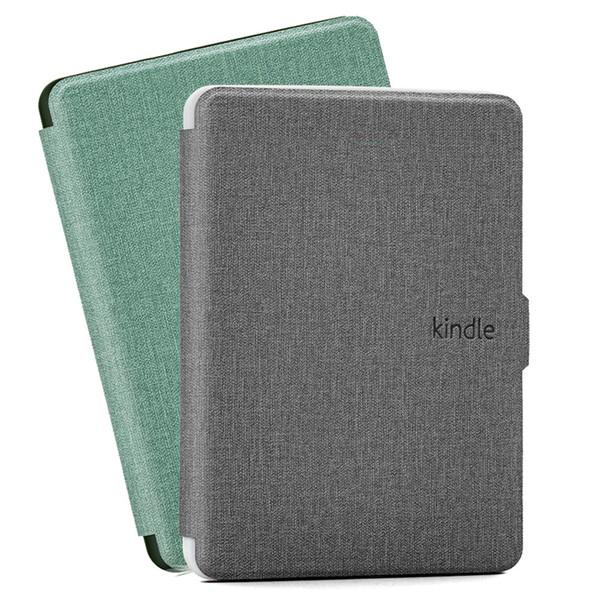 Für Kindle Case PU-Lederabdeckung für Kindle Paperwhite 1 2 3 7 8 Kindle Voyage E-Book Auto-Schlaf- und Weckfunktion