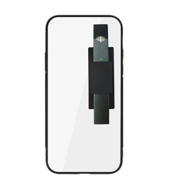 JUUL Vape Pen 10 Colors Silicone Cell Cate Mobile Phone Back Sticker Silicone Phone Holder Back Cases Vape Pen holder Free Shipping DHL