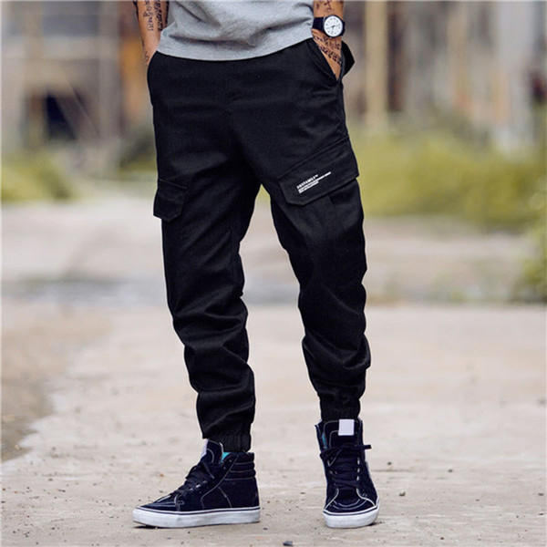 top popular Mens Stylist Track Pant Casual Style Mens Camouflage Joggers Pants Track Pants Hot Sell Cargo Pant Trousers Elastic Waist Men 28-40 2020