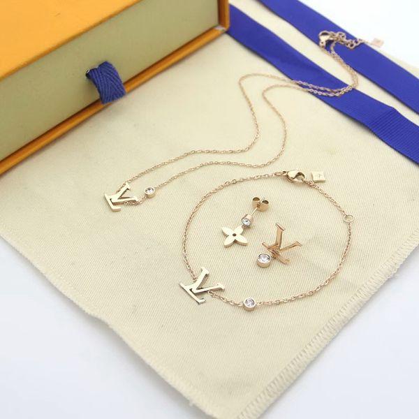 Rose Gold / 1Sets (3pieces)