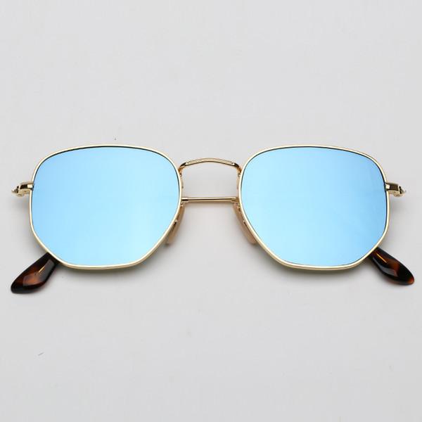 Miroir bleu clair 001 / 9O