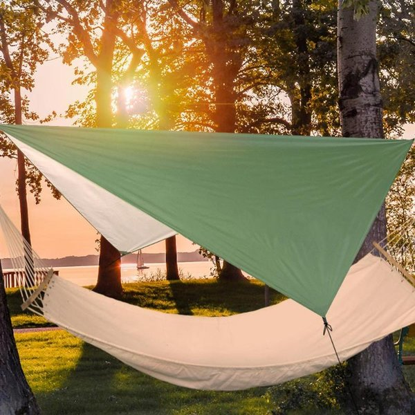 Waterproof Silver Coating Outdoor Camping Survival Sun Shelter Shade Awning Shade cloth Multifunction Tent Picnic Mat