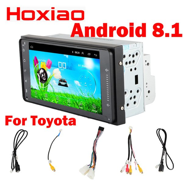 Car Android dvd player for TOYOTA COROLLA Camry Land Cruiser HILUX PRADO RAV4 7 inch gps navigation WIFI RDS 200X100mm