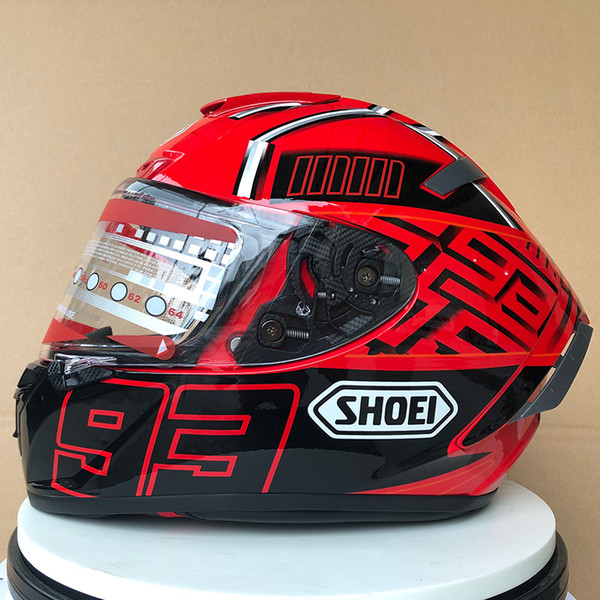 top popular Shoei X14 X14 93 93 mac HELMET Full Face Motorcycle Helmet marque z (Not original) 2021
