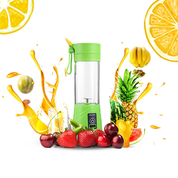 Electric Fruit Vegetables Citrus Juicer Handheld Maker Blender Portable Usb Rechargeable Juice Squezers Water Bottle Drinkware Y19070303