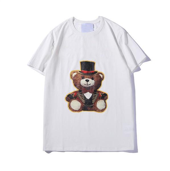 T Shirts Für Männer Mode T-shirt Mit Tier Buchstaben Printted Sommer Kurzarm T-shirt Tops Kleidung 2 Arten S-2XL