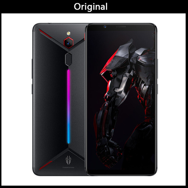 ZTE Nubia Red Magic Mars Juego Smartphone 6.0 pulgadas 6GB / 8GB / 10GB RAM 64GB / 128GB / 256GB ROM Snapdragon 845 Octa-core Android 9.0