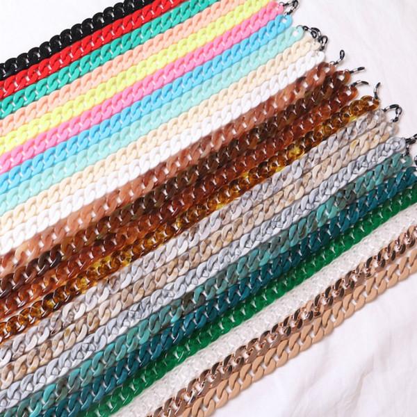 70cm Glasses Acrylic Chain Cord Fashion New Design Style Glasses Lanyard Strap Necklace Reading Eyeglass Lanyard