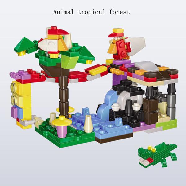 Тропический лес животные