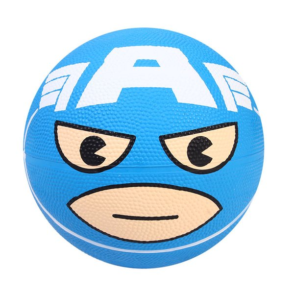 mini inflatable basketball toys children outdoor sports play toys kids hand wrist exercise 18cm rubber ball sport toys