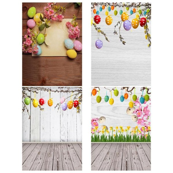 Easter Eggs Party Photography Backdrops Studio Video Art Cloth Fabric Festival Photo Background Decoration High Quality Backdrop