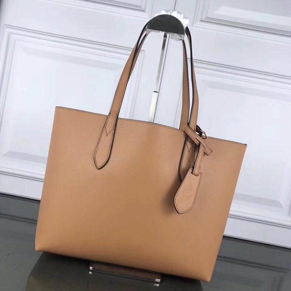 Luxury Designer Women Shoulder Bags 2019 Simple Practical and Functional Totes Bag Pure Color with Letter Fashion Female Bags New Style Hot