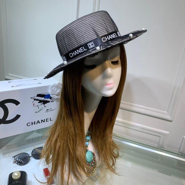 2019 ранней весной новые дамы высокого качества солнце шляпа07 #