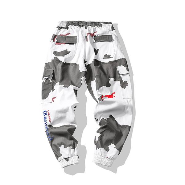 Bormandick Pantalones causales para hombre Pantalones elásticos holgados  sueltos Pantalones de chándal Pantalones casuales Hip Hop Track KXP1812-60 41c5a988ee7