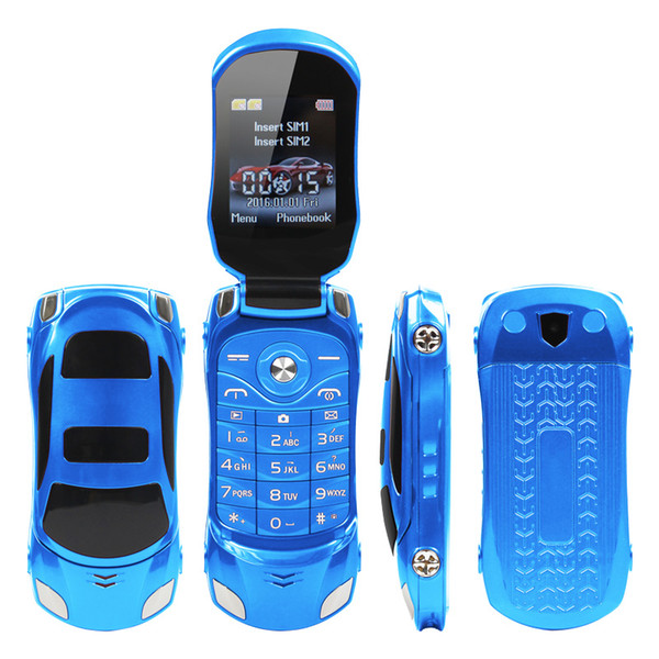 best selling NEWMIND F15 Cheap Car Shape Cell Phone 1.77 Inch Dual SIM Quad band GSM 1500mah 7colors Optional Mobile Phone For American