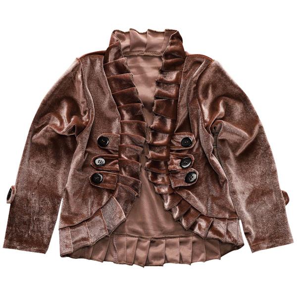 Bébé Fille En Daim Manteau Bébé Fille Designer Vêtements Enfants Manteau Brun Enfants Vêtements Manteau Enfant À Manches longues 43