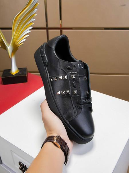 Alta calidad venta caliente hombre mujer zapatos casuales al aire libre diseñador de moda de camuflaje Superstar remaches zapatillas de deporte baratas 35-44 165834