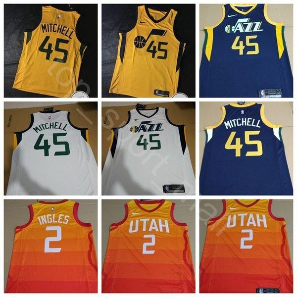 meet a190f 8dc03 2019 Men Youth Women Print Basketball Rudy Gobert Jersey Edition City  Earned Donovan Mitchell Ricky Rubio Joe Ingles Jae Crowder Shirts From ...