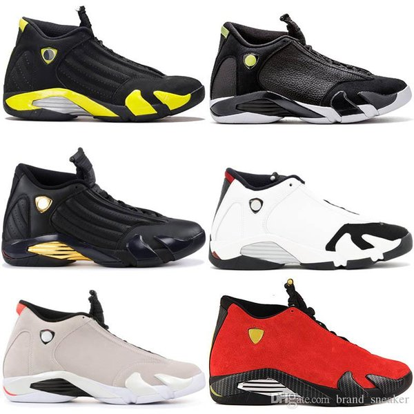 Brand 14 XIV Black Toe DESERT SAND Mens basketball shoes 14s Trainers BRED LAST SHOT Candy Cane Sports Shoes sneakers Men Athletics shoe