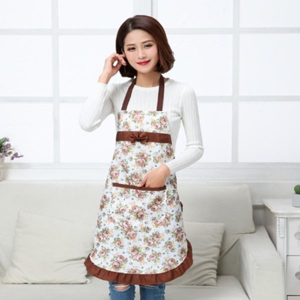 Kitchen Apron Waterproof Chef Cooking Home Cleaning Tool Accessories for Butchers Plain Craft Baking Polyester Adult Anti Fouling Tools